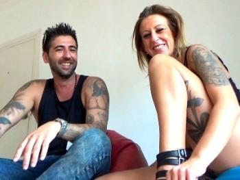 Adriana y David, fiesteros sevillanos nos ense�an como se lo montan.