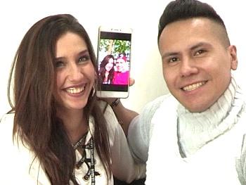 Victoria y Giorgio, una belleza de 21 añitos y un galán latino que se las liga con la sonrisa. SPOILER: Como folla ella!